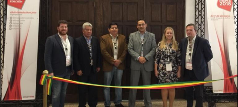 La agenda del primer día de la edición 2018 de Bolivia Media Show -evento que se está celebrando en Santa Cruz de la Sierra- presentó ocho actividades, entre conferencias y workshops técnicos.