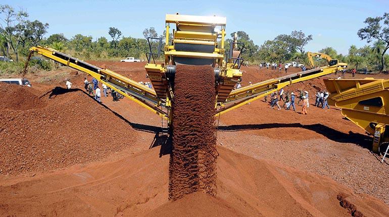Empresa Siderúrgica del Mutún exportó 45.000 toneladas de hierro a Argentina y Paraguay