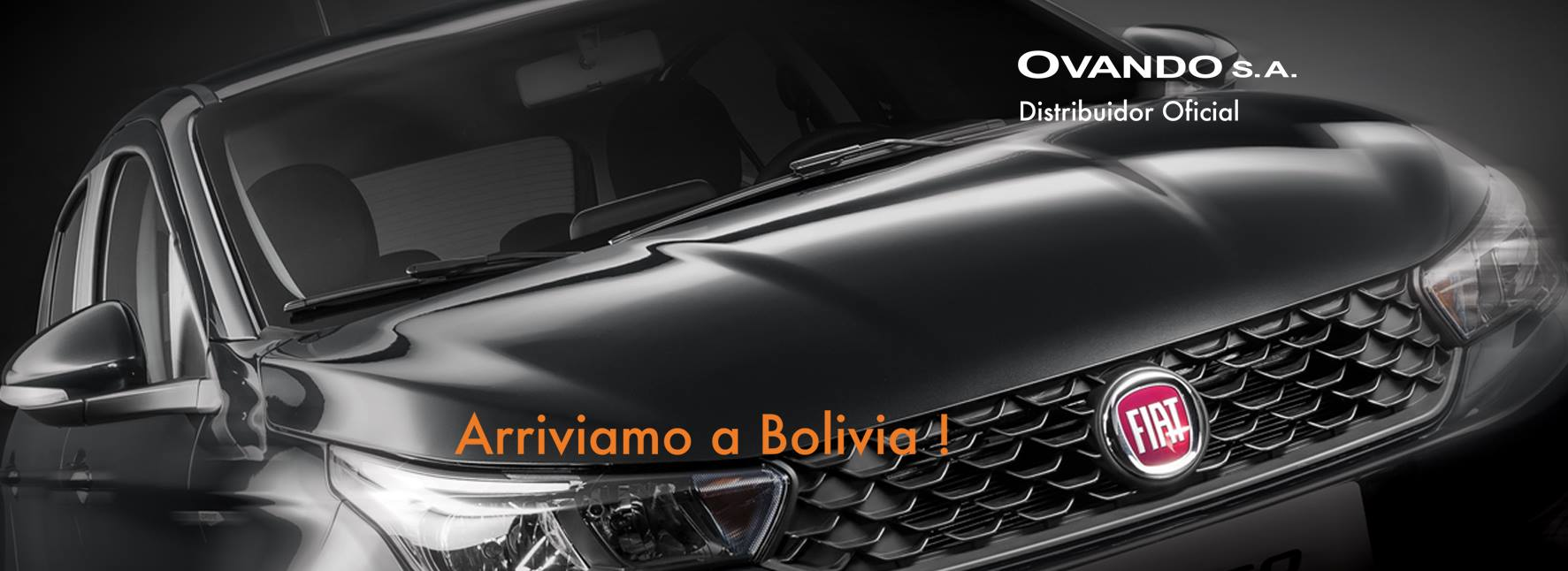 Ovando S.A. es Distribuidor Oficial  para Bolivia del gigante italiano Fiat