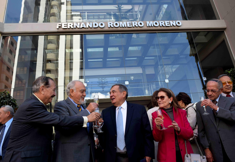 """La Escuela de Negocios de la UPB rindió homenaje a """"Fernando Romero Moreno"""""""