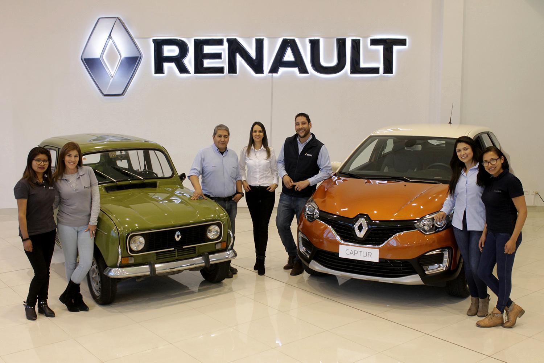 Los 120 años de Renault fueron expuestos en la  XII versión de la Larga Noche de Museos
