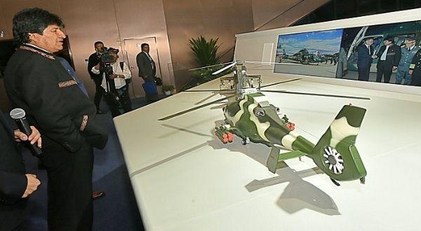 Morales gestiona mayor cooperación tecnológica de China para proyectos productivos en Bolivia