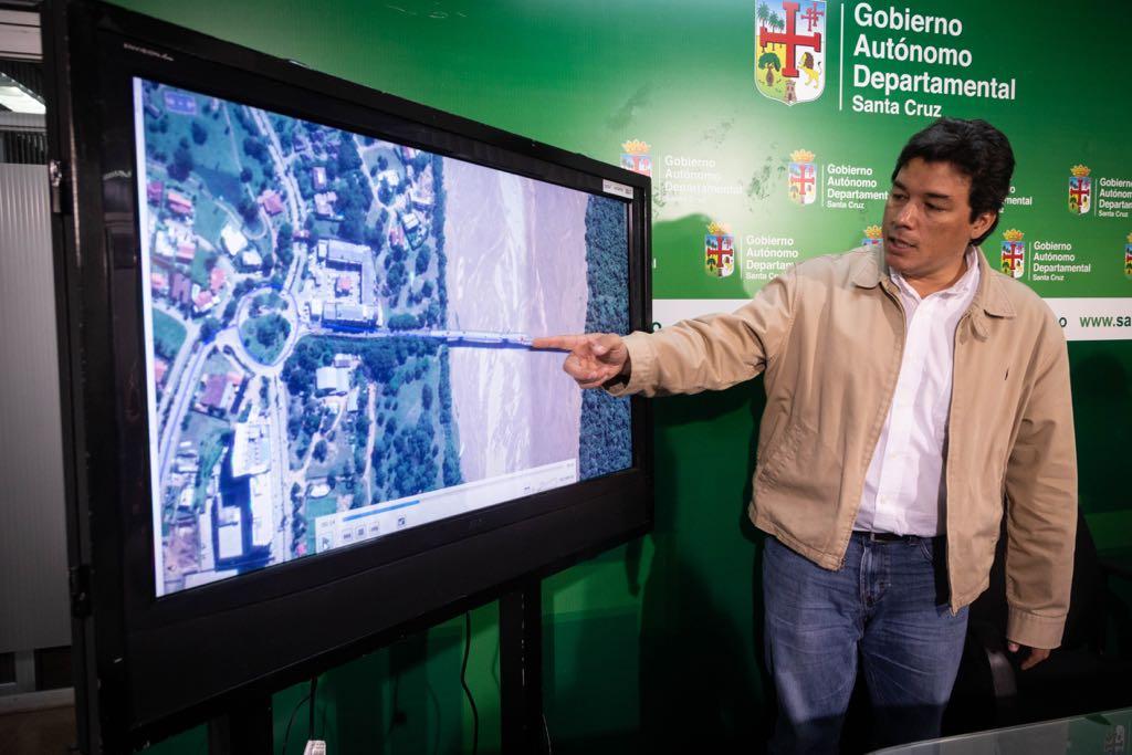 Gobernación lanza licitación para estudio de puente que conectará a Santa Cruz y Porongo