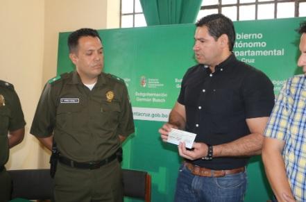 Gobernación entregó recursos a Policía fronteriza