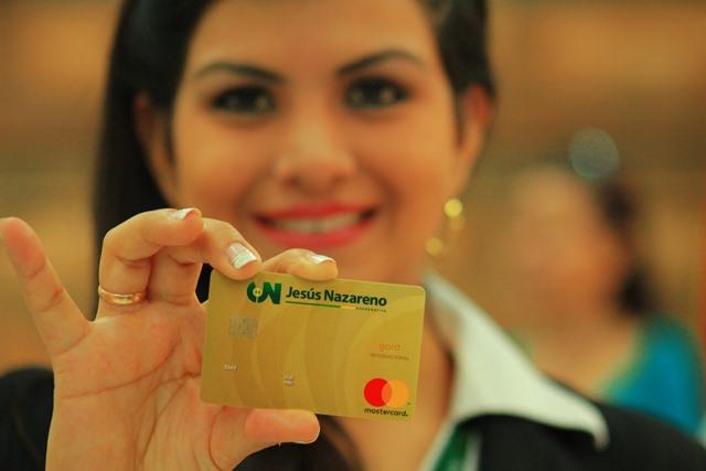 Jesús Nazareno se convierte en la primer Cooperativa en emitir tarjetas de crédito