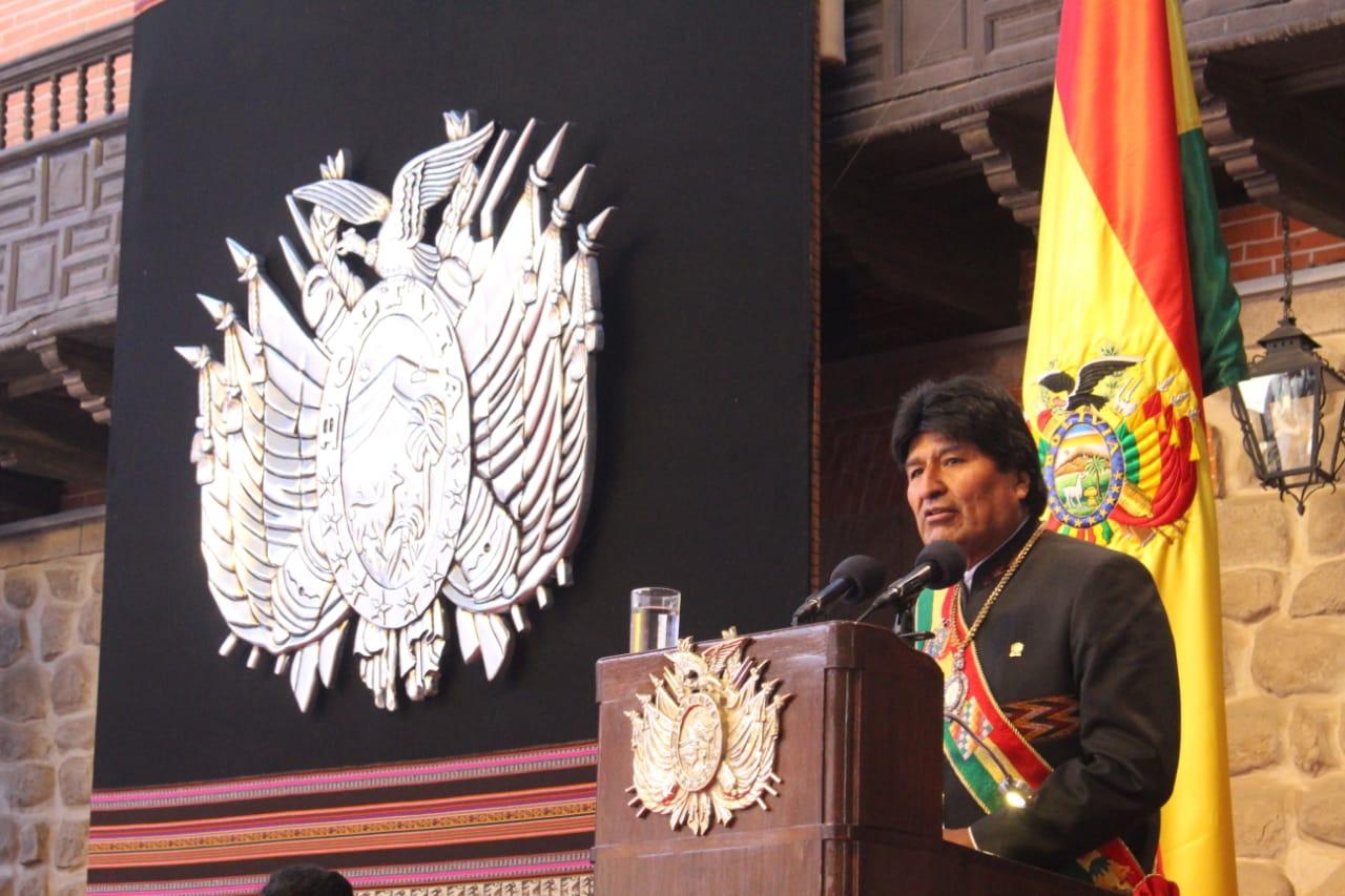 Morales destaca peso económico de Bolivia en la región y proyecta $us 50.000 millones de PIB hasta 2025