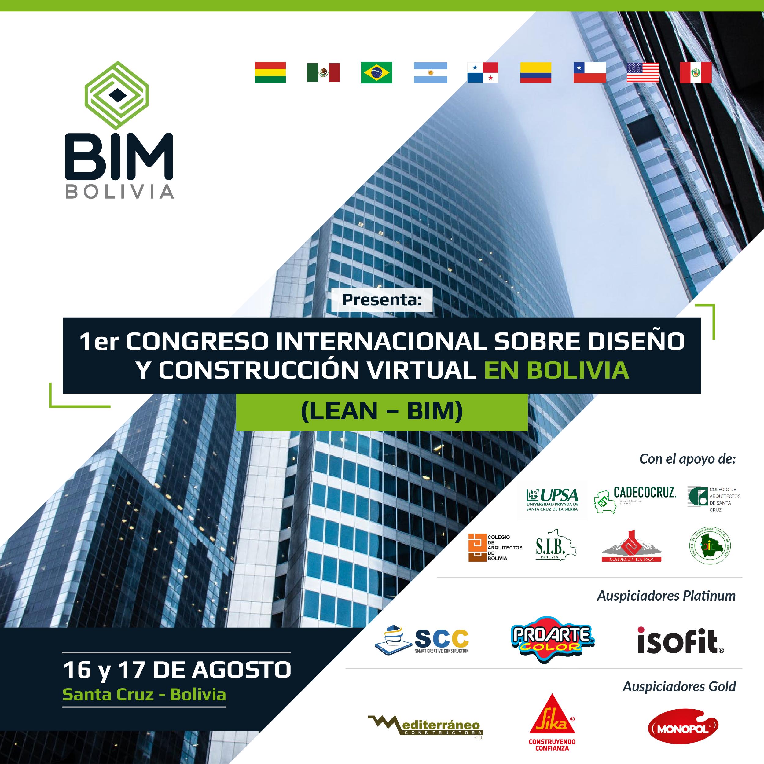 Congreso internacional sobre Diseño y Construcción Virtual en Bolivia