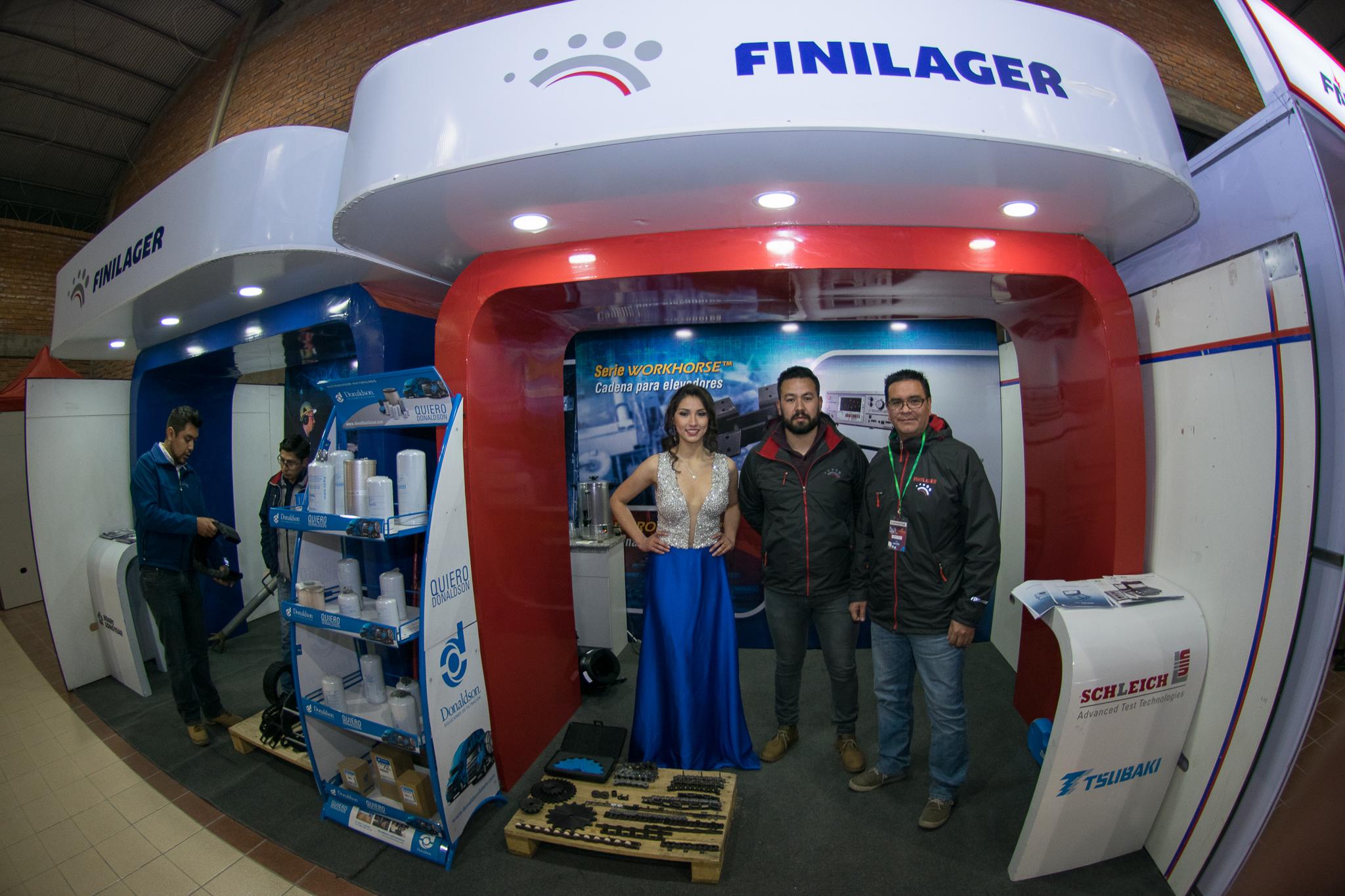 Finilager presentó novedades en la FIMEM Bolivia 2018