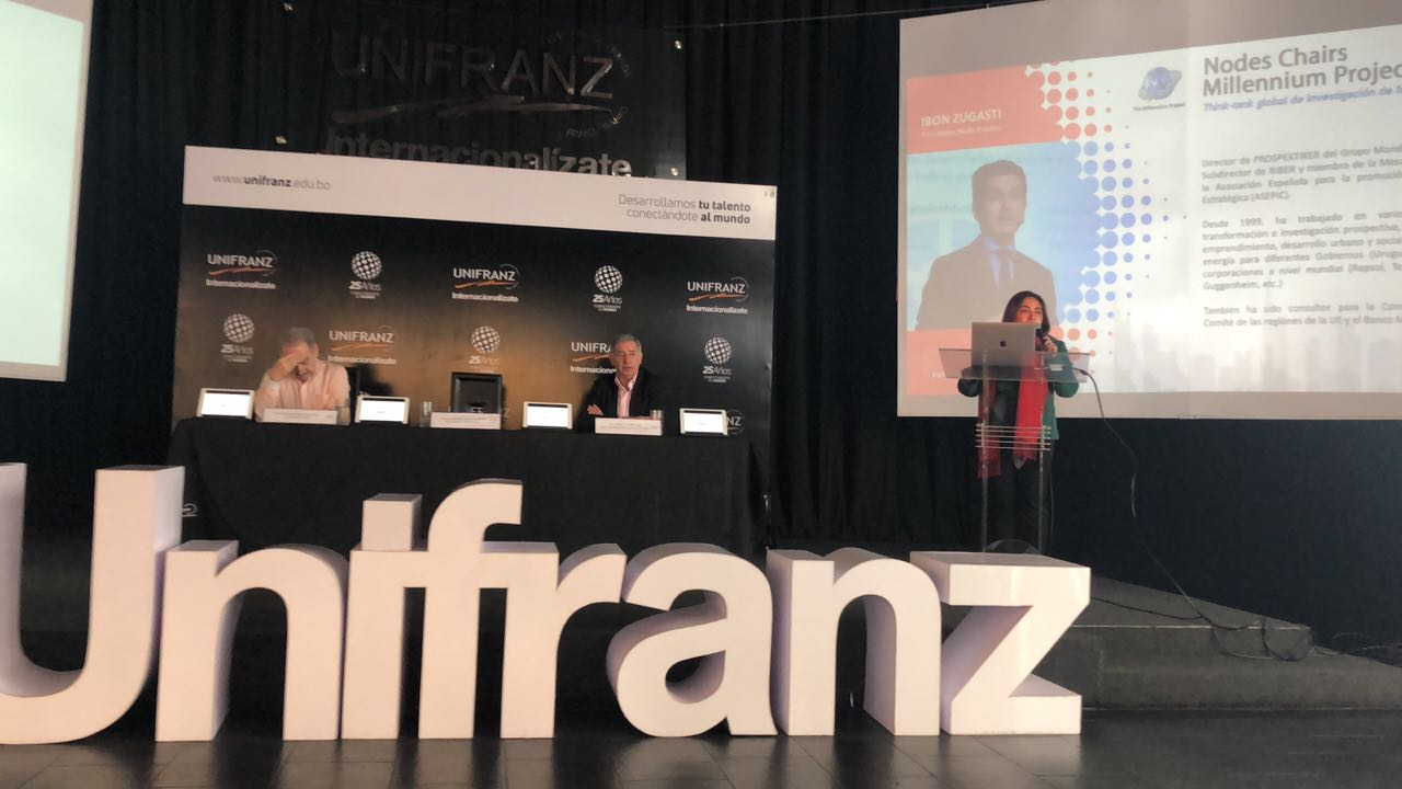 Universidad privada UNIFRANZ prepara su #FuturesWeek para octubre