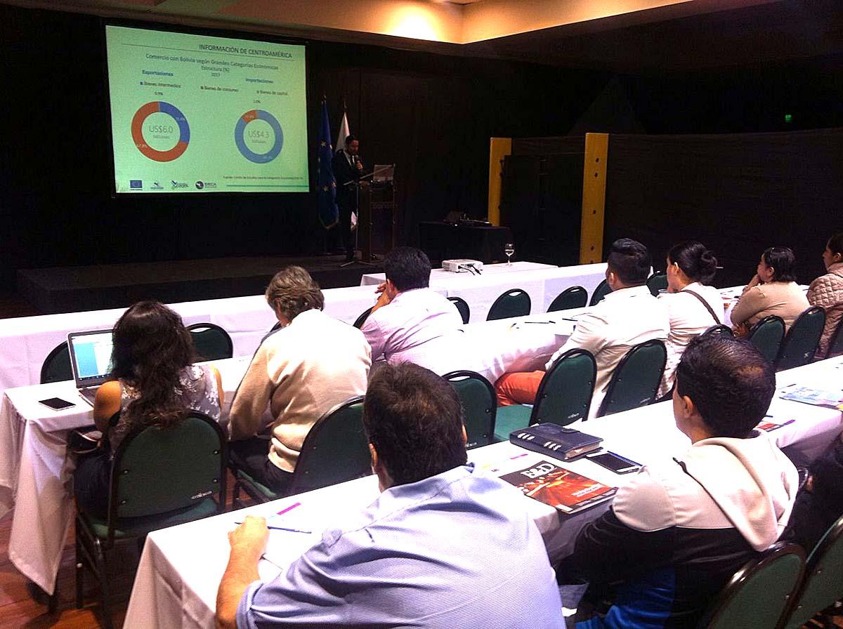 Más de 25 empresarios participaron de 'Centroamérica Exporta'