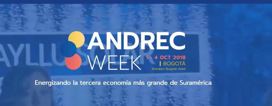 En ANDREC Colombia se discutirán proyectos de energías renovables