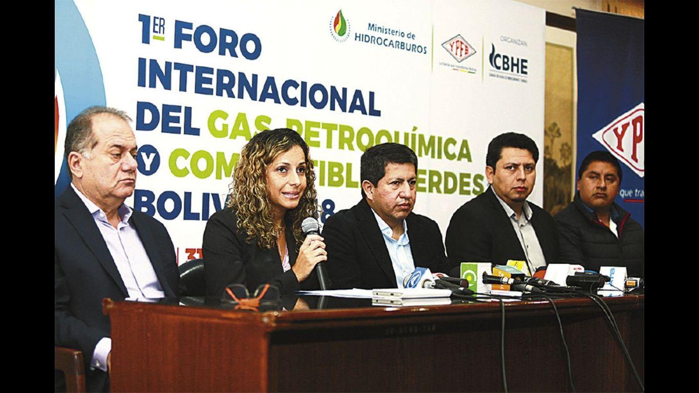 Organizan primer Foro Internacional del Gas, Petroquímica y Combustibles Verdes en Santa Cruz