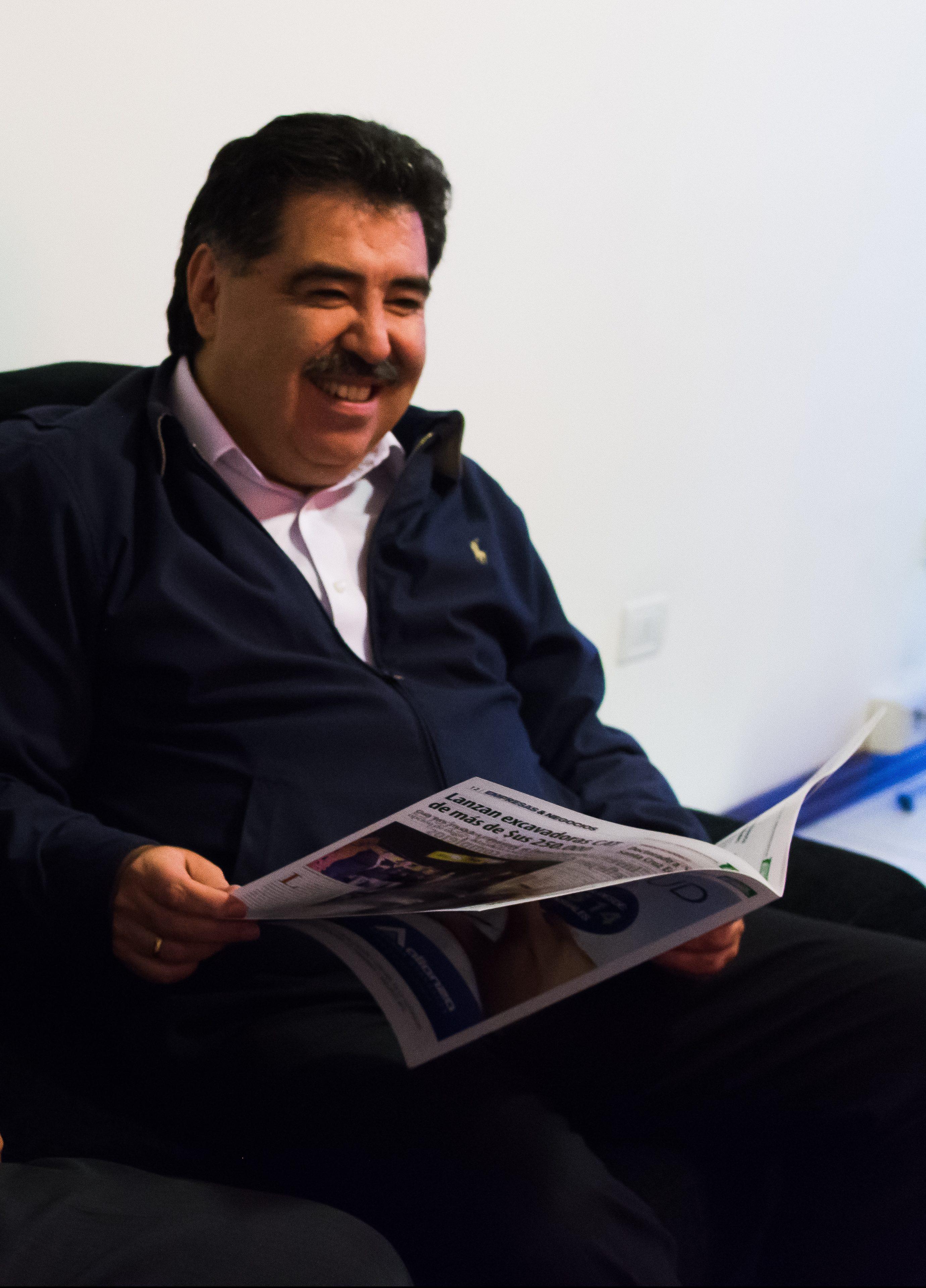 Entrevista con Marco Antonio Salinas Iñiguez el Presidente de la Cámara Nacional de Comercio (Avance)