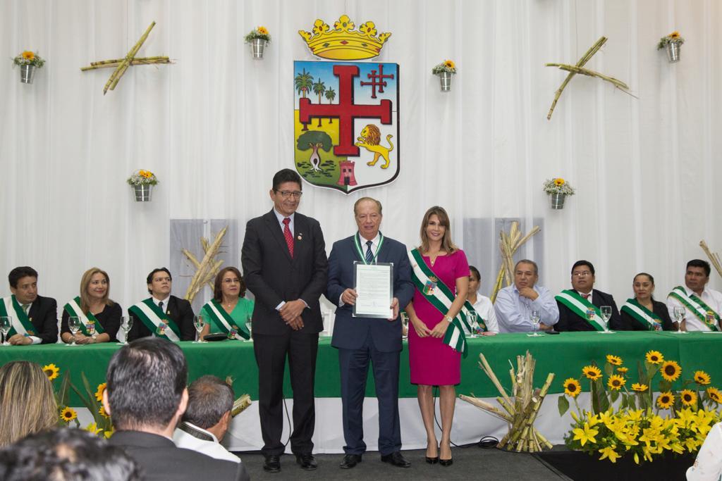 Feria Exposición  fue distinguida con la Orden Dr Andrés Ibáñez en el grado de Gran Cruz Potenzada