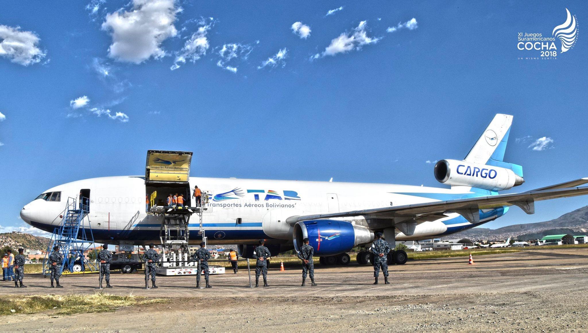 TAB trasportará 20 toneladas de Wolframio a Estados Unidos