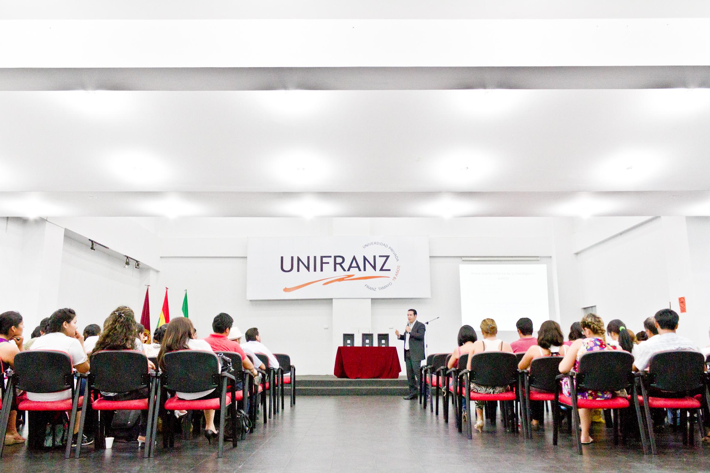 Unifranz, primera Universidad de Bolivia con Cátedra Unesco