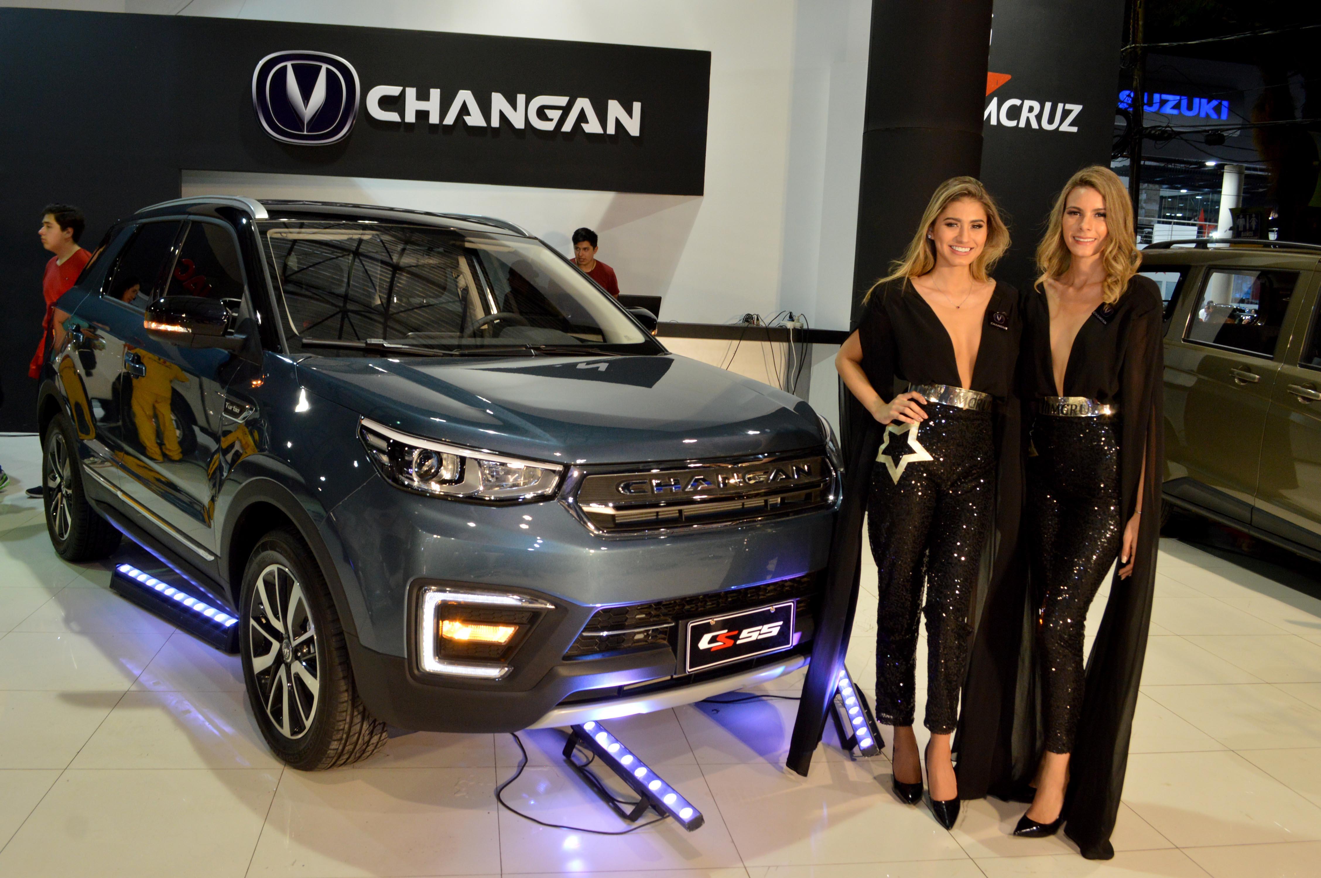 Cs55, la nueva SUV de Changan impacta en la Expocruz