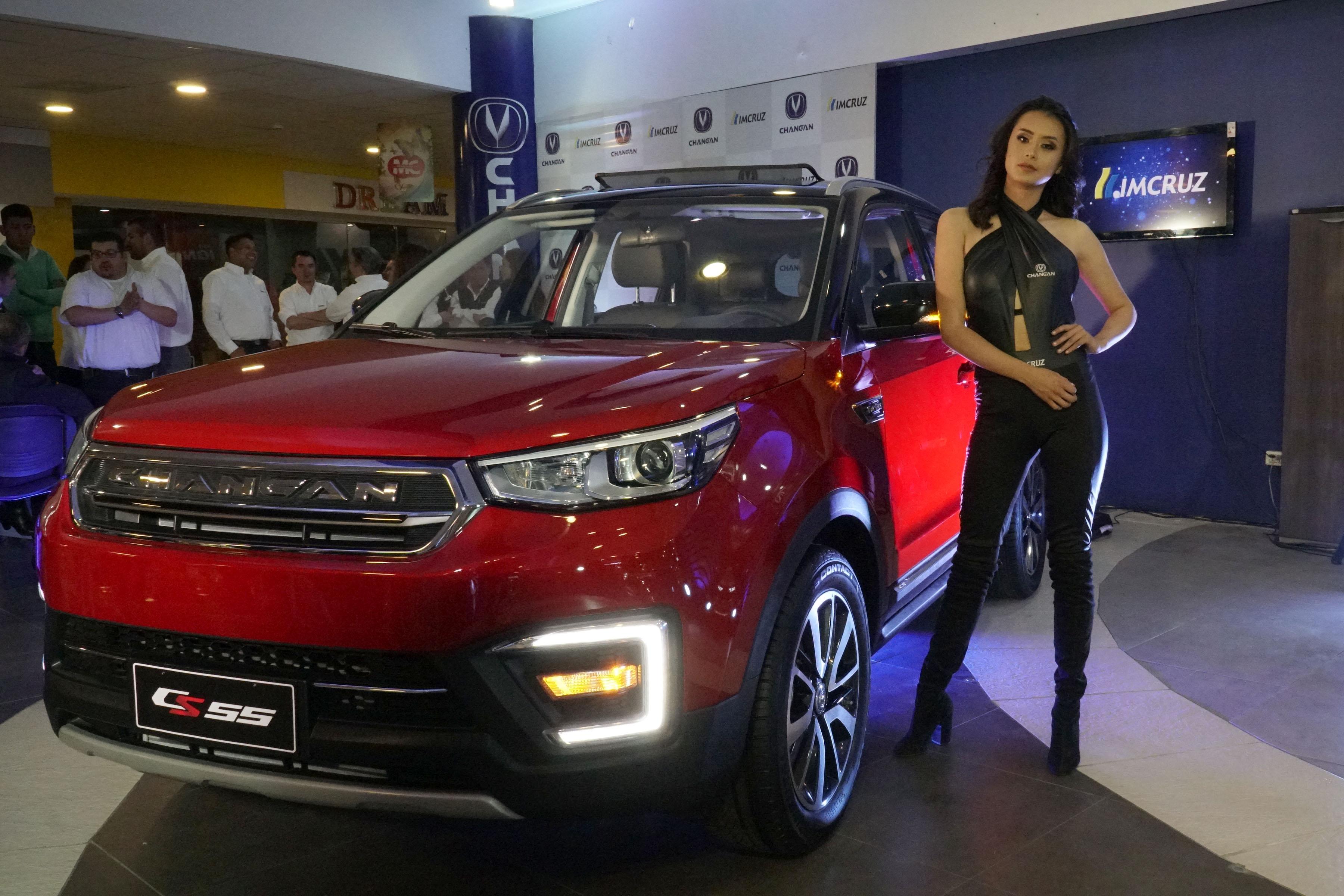 Changan CS55, la nueva SUV de la firma China más vendida en el mundo