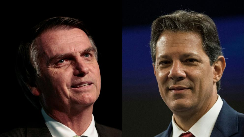 Bolsonaro se impuso en segunda vuelta al socialista Haddad y es el nuevo presidente de Brasil