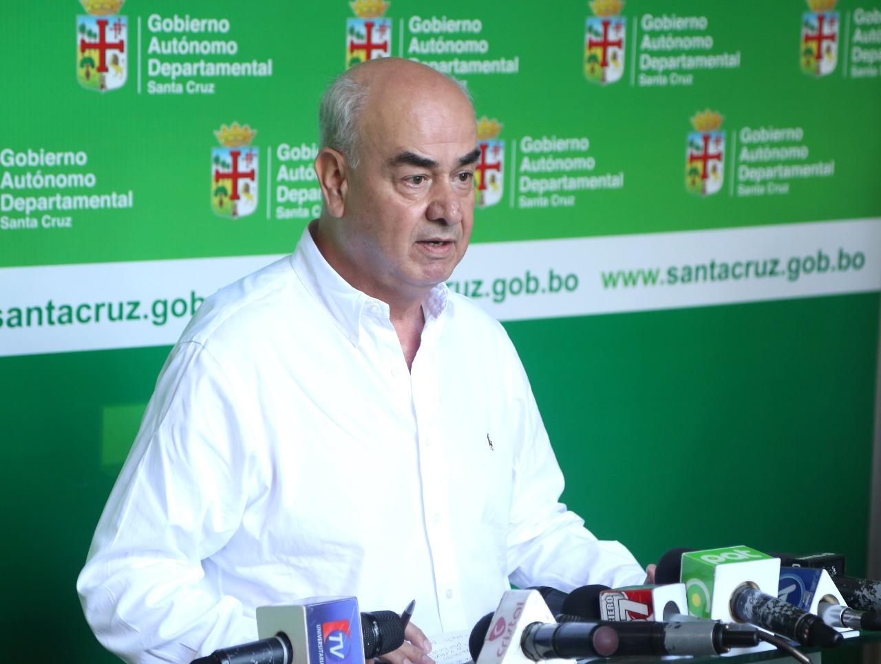 Gobernación califica de políticas las amenazas de Vallejos por tema regalías