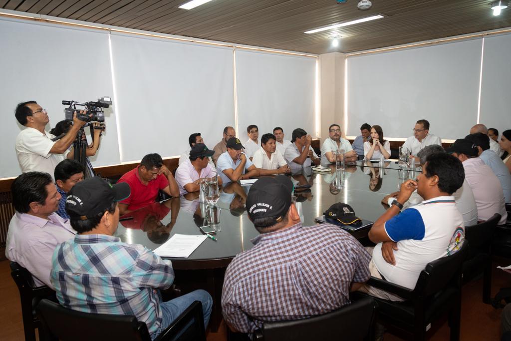 Reunión entre Gobernación y Amdecruz entra en cuarto intermedio