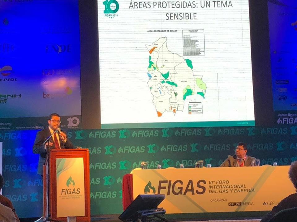 Presidente de Santa Cruz Económico Iver von Borries participa de la 10ma versión del Foro Internacional del Gas