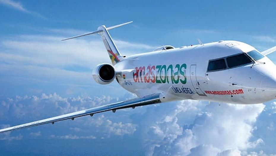 Amaszonas no volará más desde Córdoba a Uruguay y Bolivia