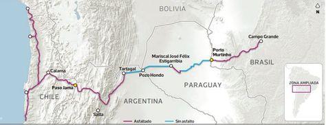 Chile y Brasil: corredor bi-oceánico sin Bolivia