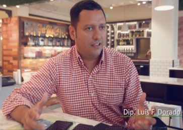 Las empresas públicas deficitarias son igual a corrupción: diputado Luis F. Dorado