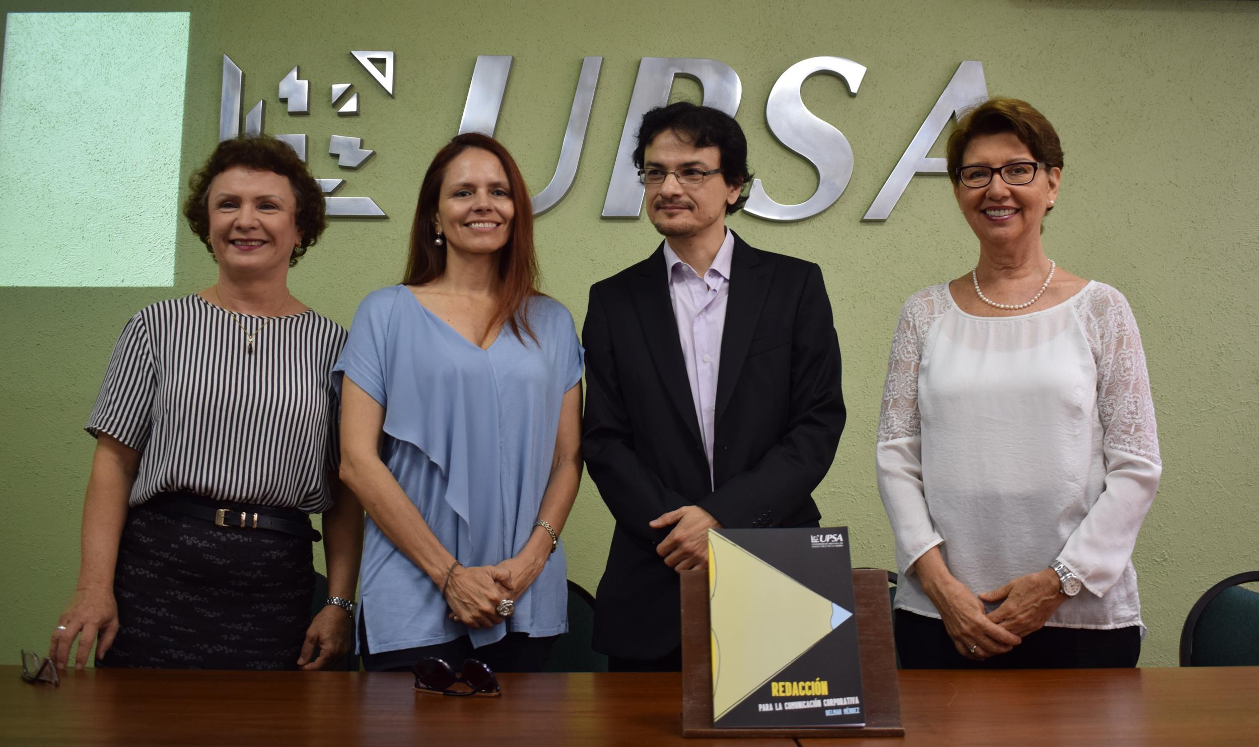 """Se presentó en la UPSA el libro  """"Redacción para la Comunicación Corporativa"""""""