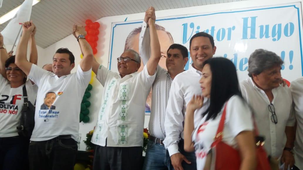 Victor Hugo Cárdenas: reconstruirá relaciones gasíferas con Brasil