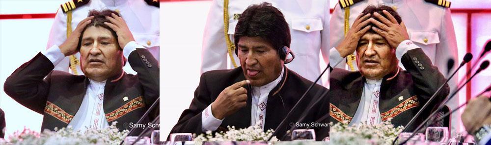 Evo el supremo: editorial de El Comercio de Lima