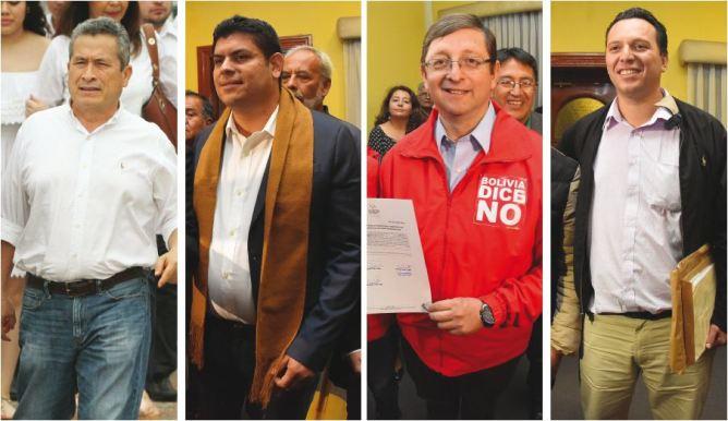 Santa Cruz en el frente político, cuatro cruceños se perfilan como candidatos en las primarias