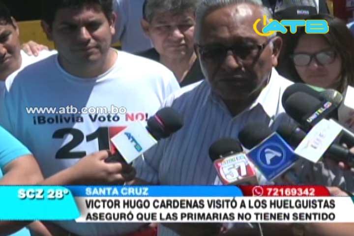 Victor Hugo Cárdenas: voy a dar seguridad a grandes, medianos y pequeños empresarios