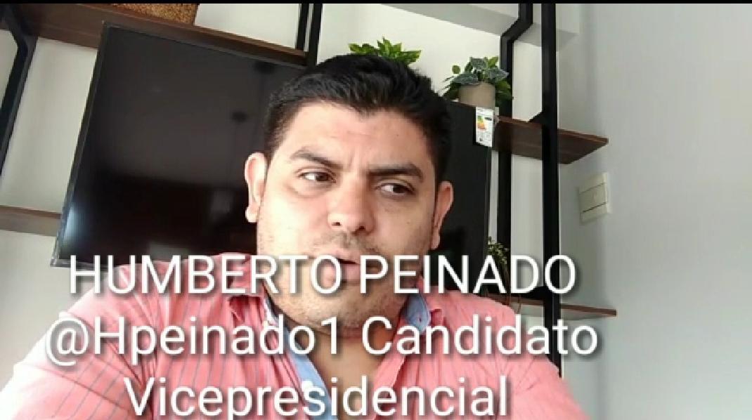 Bajar impuestos, desregular y liberar fuerzas del mercado: palabra del candidato vicepresidencial Humberto Peinado