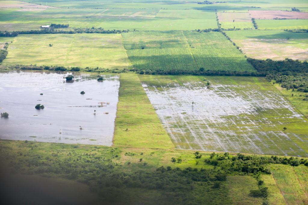 Rubén sobrevoló las cuencas del Piraí y Grande, defensivos evitaron mayores daños