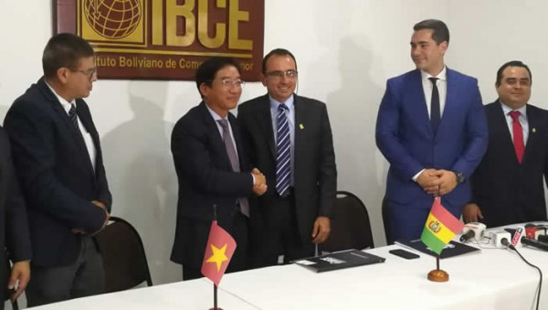 Florece relaciones comerciales Vietnam – Bolivia