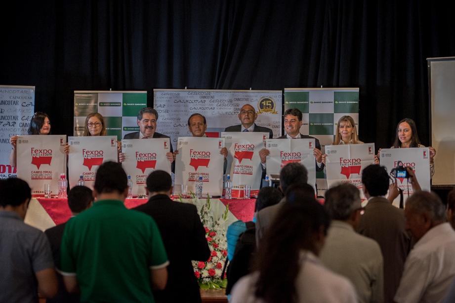 Presidente Cámara Nacional de Comercio Marco Salinas, junto a otras organizaciones privadas, presenta Feria Exposición Tarija 2019