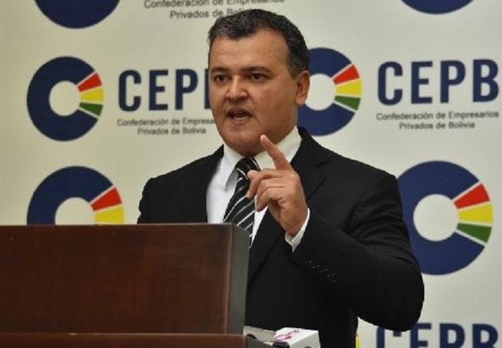 Presidente Confederación Empresarios Privados de Bolivia Ronald Nostas: el modelo económico implementado precisa ajustes pues está impidiendo el desarrollo del sector privado