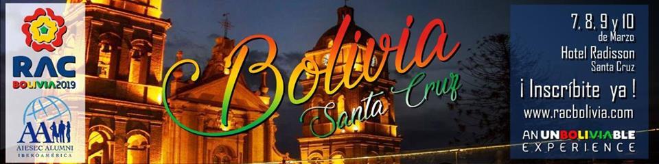 Regional Alumni Congress Bolivia 2019: 7 al 10 de marzo