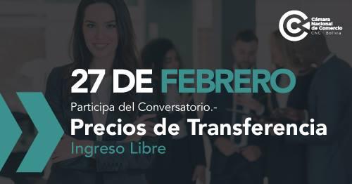 Conversatorio:  Precios de Transferencia