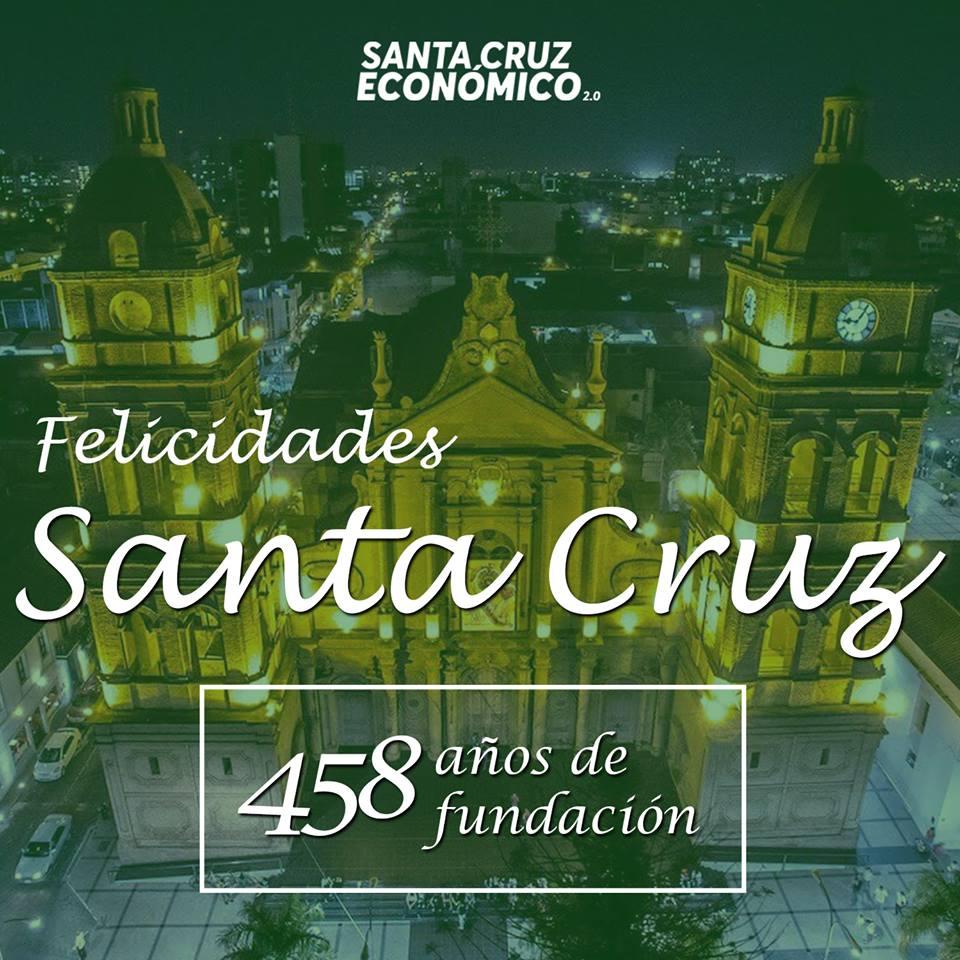 Felicidades Santa Cruz de la Sierra!