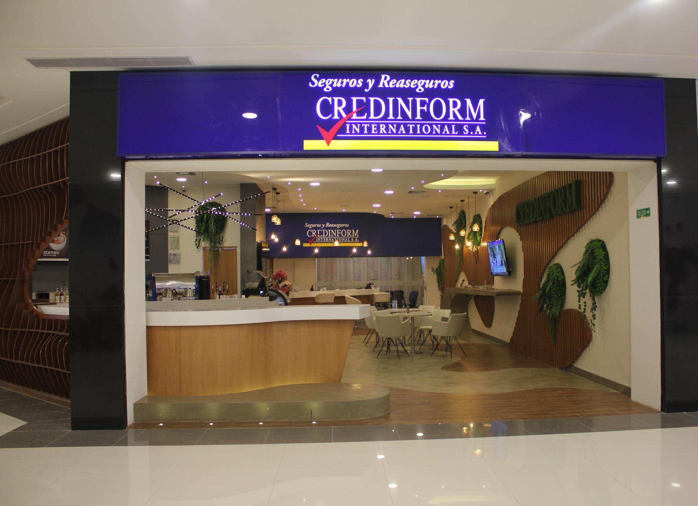 CREDINFORM inaugura nueva oficina con un Concepto innovador de Atención al cliente
