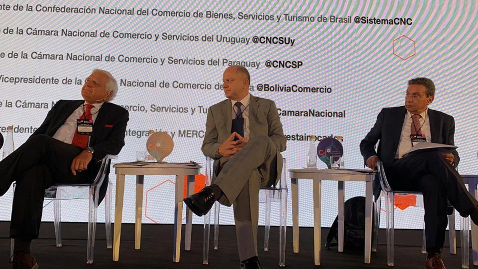 Cámara Nacional de Comercio participa en Buenos Aires en evento sobre comercio