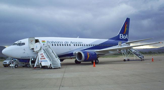 Vuelo de terror de aerolínea estatal boliviana BOA