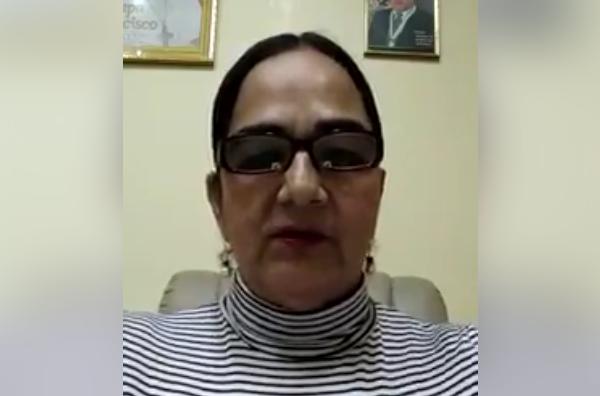 Senadora Carmen Gonzáles cuestiona política económica del gobierno, persecución tributaria y pide elegir un presidente de empresarios que no esté ligado al gobierno