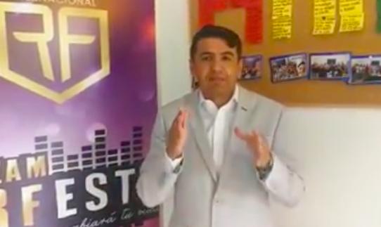 Ventas masivas: así anunció el lanzamiento de su campaña de venta de productos comerciales el exalcalde de Santa Cruz de la Sierra, Roberto Fernández