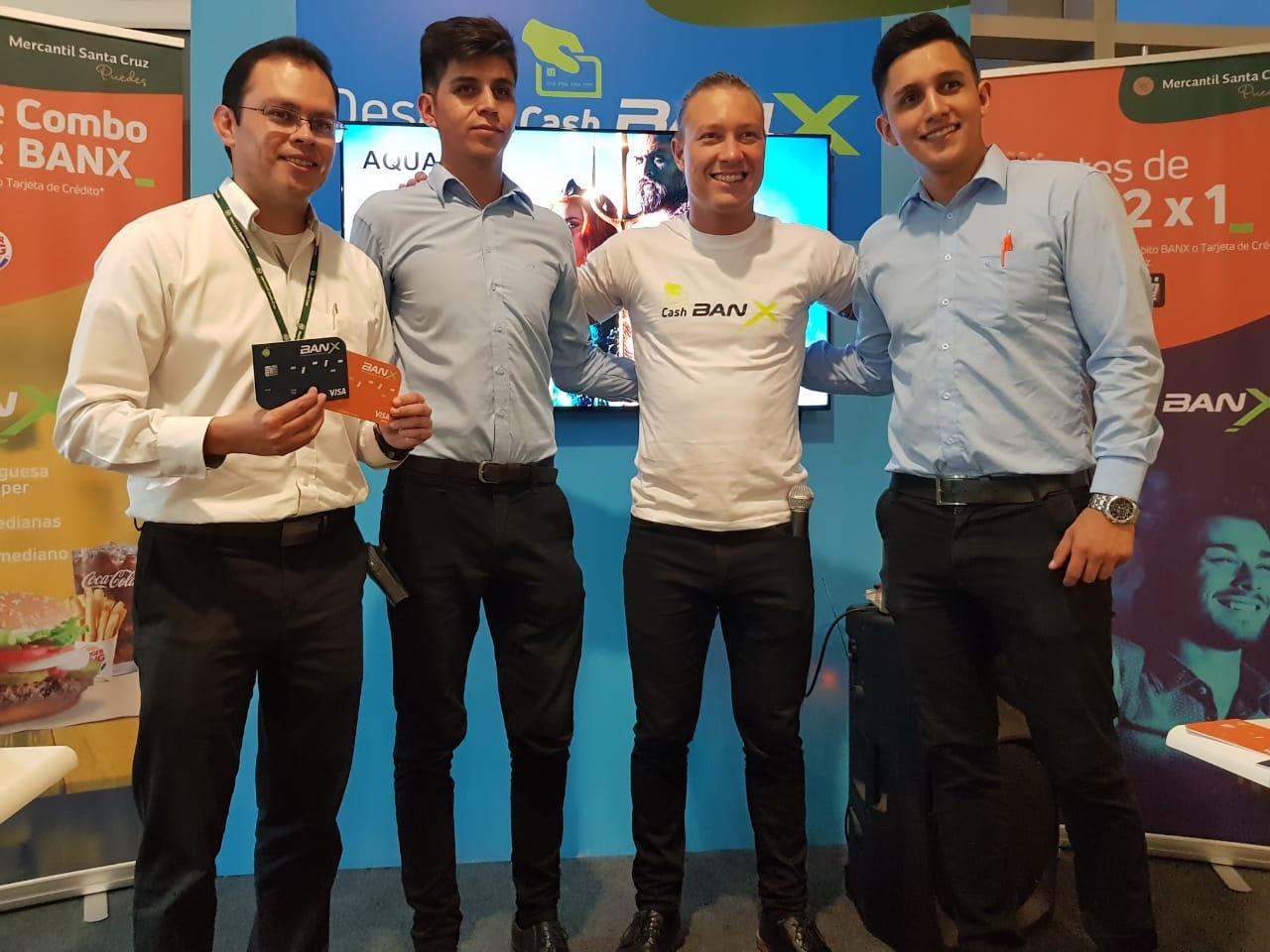 BANX del banco Mercantil Santa Cruz presentó la nueva temporada de CashBANX con múltiples beneficios para sus usuarios