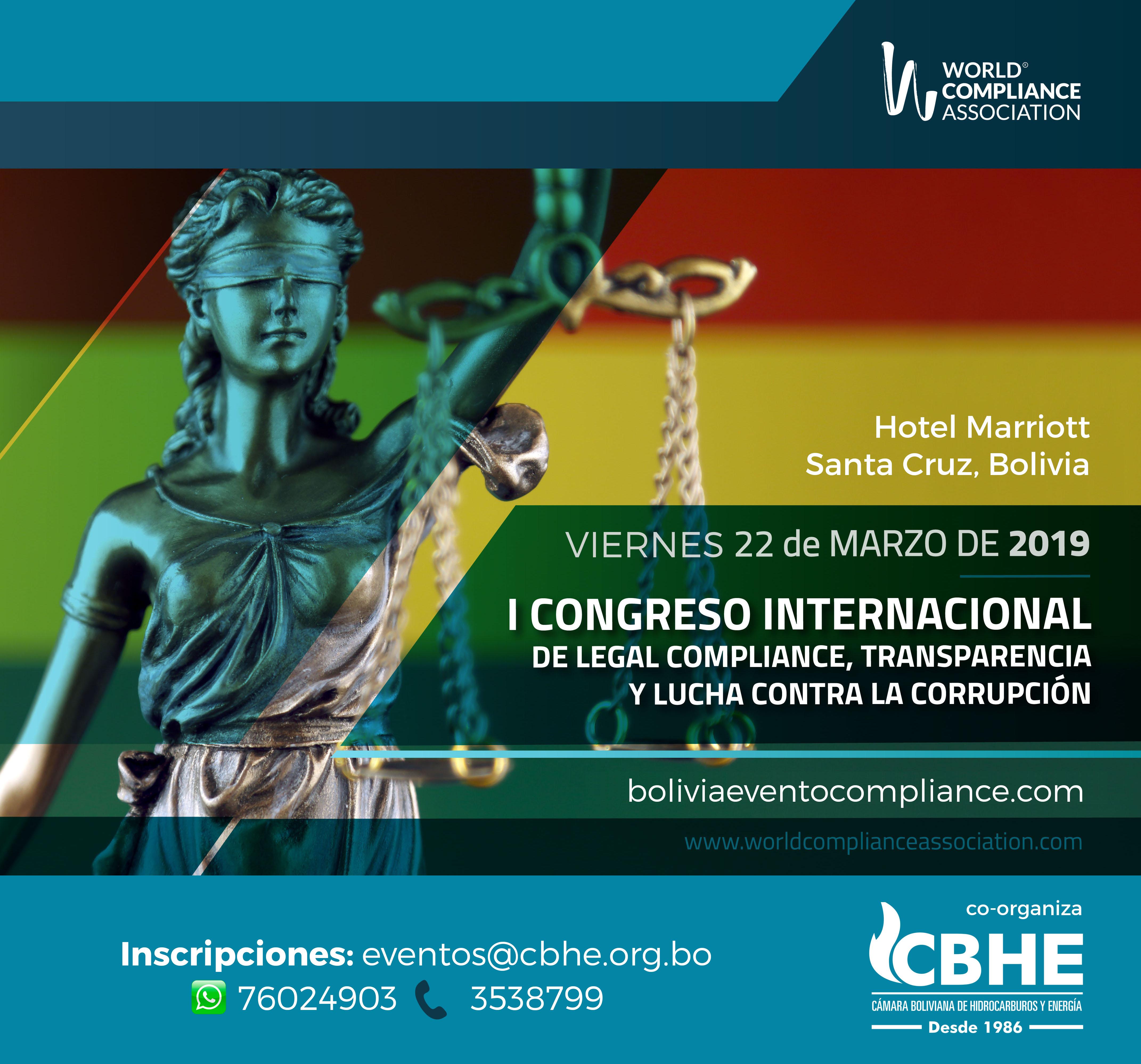 Primer Congreso Internacional de Legal Compliance, Transparencia y lucha contra la corrupción