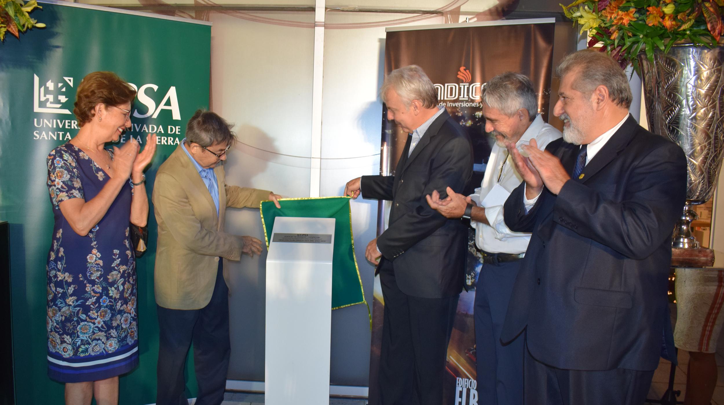 Premio de la UPSA cumple 25 años  de impulsar la Arquitectura cruceña